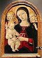 Guidoccio cozzarelli, madonna col bambino e angeli.JPG