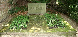 Friedrich Gundolf - His grave in Heidelberg