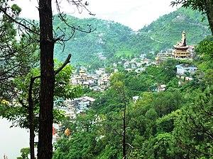 Rewalsar, India - Guru Rinpoche overlooking Rewalsar