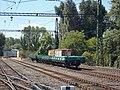 HÉV station, K class rail cargo wagon, 2018 Ráckeve.jpg