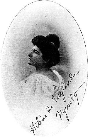 Hélène van Zuylen - Nouvelle Revue internationale illustrée, December 1908