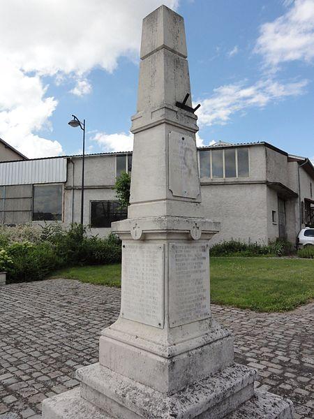 Hénamémil (M-et-M) monument aux morts
