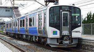 Senseki-Tōhoku Line - Image: HB E210 C 3 5531D Rikuzen sanno 20150614
