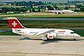 HB-IXK B.Ae 146-RJ85 Swiss Intl Al ZRH 19JUN03 (8548461496).jpg