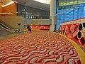 HKCEC 灣仔 香港會議展覽中心 Wan Chai lobby interior red May 2013.JPG