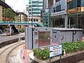 HK CWB 銅鑼灣 Causeway Bay Tram Terminus 怡和街 Yee Wo Street Leighton footbridge Road June 2019 SSG 01.jpg