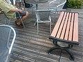 HK TST Promenade Starbucks Coffee public seating bench Aug-2012.jpg
