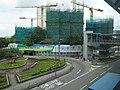 HK YL 元朗 Yuen Long 朗屏站 Long Ping MTR Station 宏業東街 Wang Yip Street 朗屏8號 The Spectra April 2016 DSC (1).JPG