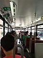 HK tramways 88 車廂上層 upper deck interior 冷氣電車 aircon locked windows June 2019 by RedMi notes 7.jpg