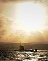 HMS Astute Arrives at Faslane for the First Time MOD 45150829.jpg