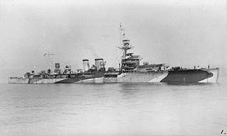 HMS <i>Danae</i> (D44) Danae-class light cruiser