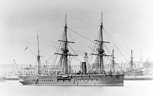 HMS Iron Duke (1870) - Image: HMS Iron Duke (1870)