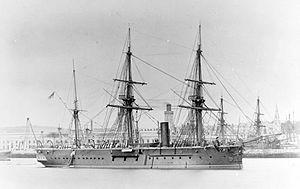 HMS Iron Duke (1870) - Image: HMS Iron Duke (1870)