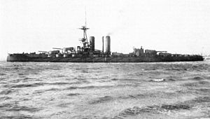 HMS Iron Duke (1912) - Iron Duke in November 1913
