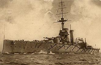 HMS King George V (1911) - Image: HMS King George V (1911)