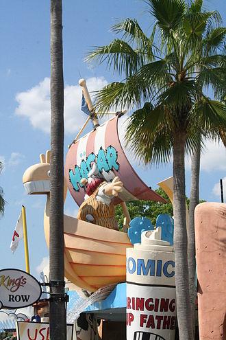 Hägar the Horrible - Hägar themed gift shop at Islands of Adventure theme park in Florida
