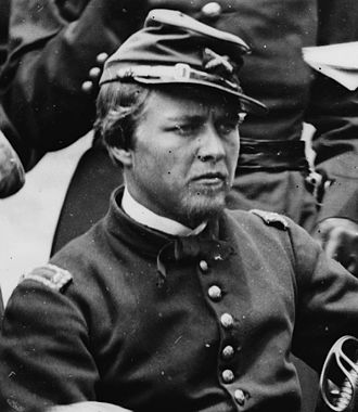Peter Conover Hains - First Lieutenant Peter C. Hains, 1862. Photo by James F. Gibson. Library of Congress