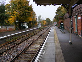 Halesworth railway station in 2008.jpg