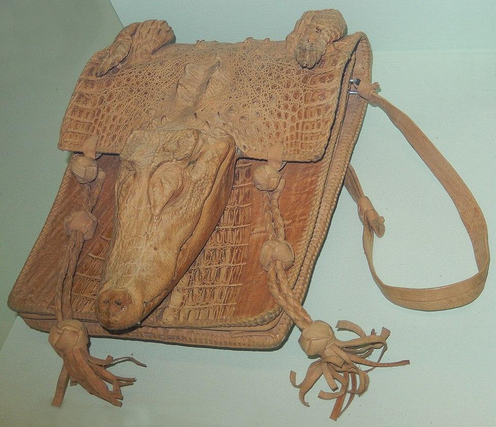 Handbag of West African Dwarf Crocodile