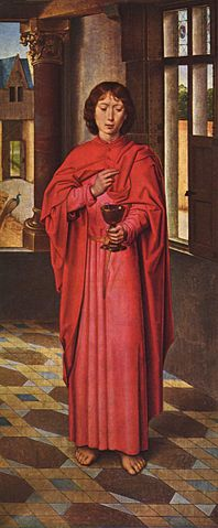 Апостол Иоанн (Г. Мемлинг, ок. 1468)
