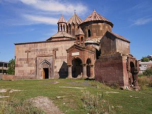Harichavank Monastery - Rear view of the monastery.