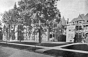 Harper University Hospital - Image: Harper Hospital 1899