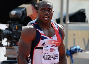2005 World Youth Championships in Athletics - Harry Aikines-Aryeetey won a sprint double for Great Britain.