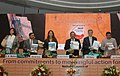 "Harsh Vardhan launching the ""Guidelines on Newer Initiative for Newborn Health Care"", in New Delhi. Mr. Bill Gates, Ms. Melinda Gates, the Health Secretary, Shri Lov Verma and other dignitaries are also seen.jpg"