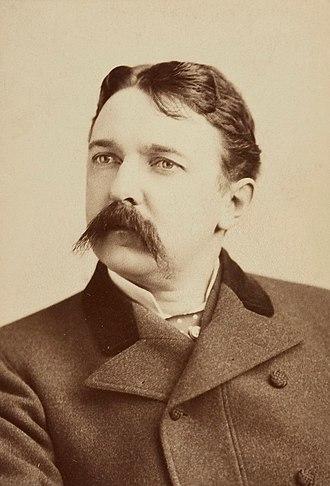 Henry Eugene Abbey - Portrait of H. E. Abbey