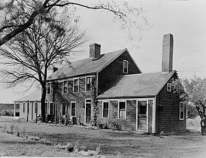 Hatch Homestead and Mill Historic District - Image: Hatch House in Marshfield MA