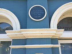 Photo of Hattie Jacques blue plaque