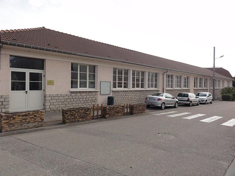 Haudainville (Meuse) école Edgar Gascon