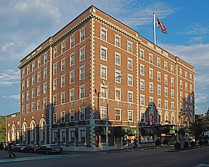 The Hawthorne Hotel in Salem, Massachusetts, o...