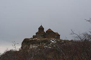 Hayravank Monastery - Image: Hayravank Monastery in April