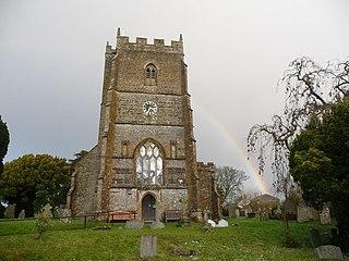 Hazelbury Bryan village in United Kingdom