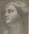 Head of a Woman Looking to Upper Left. MET DP807126.jpg