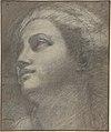 Head of a Woman Looking to Upper Left. MET DP807126.jpg