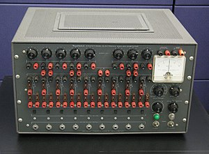 Analog computer - Heathkit EC-1 educational analog computer