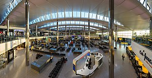 Heathrow Terminal 2 - Terminal 2 departures area