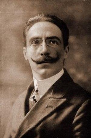 Ettore Panizza -  Argentine composer and conductor Ettore Panizza.