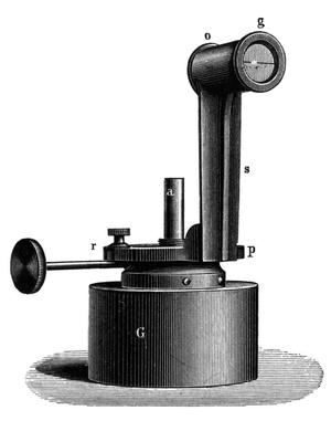 Friedrich von Hefner-Alteneck - Image: Hefnerlampe