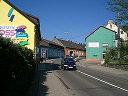 Ortseinfahrt von Heilgenwald Gemeinde Schiffweiler