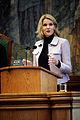 Helle Thorning-Schmidt, partiledare for socialdemokraterna i Danmark, talar under Nordiska radets session i Kopenhamn 2006.jpg