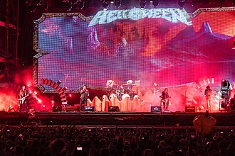 Helloween - Helloween performing at Wacken Open Air in 2018.