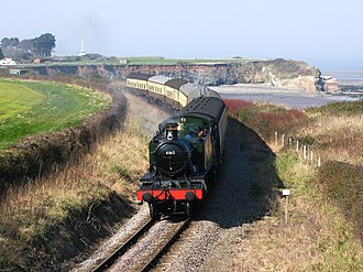 West Somerset Railway - Image: Helwell Bay 4160