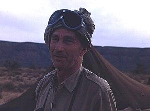 Henri Lhote - Henri Lhote in Mauritania in 1967