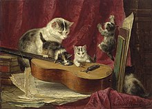 Henriette ronner-knip making music.jpg
