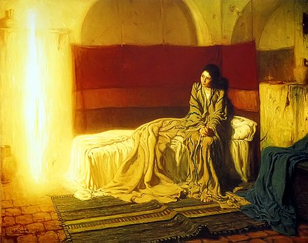 The Annunciation, Henry Ossawa Tanner (1898) - Gabriel