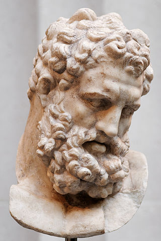 the Greek god Heracles, who the ancient Greeks credited with founding the Nemean Games (c. 1st century AD) - Ancient Nemean Games
