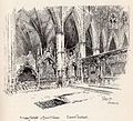Herbert Railton Tombs in the Sacrarium A Brief Account of Westminster Abbey 1894.jpg